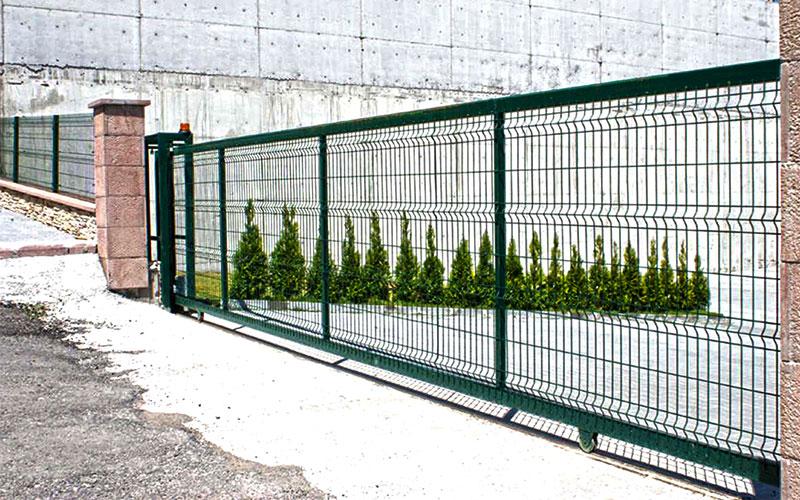 Panel Çit Kapı Sistemleri